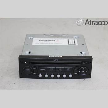 RADIO CD/MULTIMEDIAPANEL CITROEN C4 I   05-10 CITROEN C4 (I) 1.6 HDI 2008 6579PC