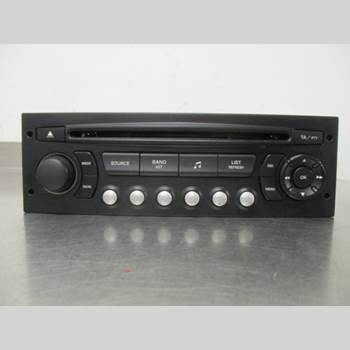 RADIO CD/MULTIMEDIAPANEL CITROEN C4 I   05-10 CITROEN C4 138 VTR PACK 2005 6579NZ