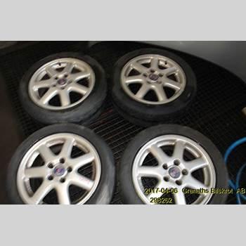 Aluminiumfälg Sats 4st SAAB 9-3 VER 1 98-03 SAAB 9-3 SE 5D 2,0LPT 2000 4779260