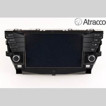 CD Radio TOYOTA AVENSIS 2016-2018 TOYOTA AVENSIS 4D 1,6D-4D 2016 86140-05200