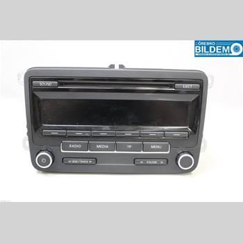 RADIO / STEREO   VW POLO 10-17 1,6 TDI.VW POLO 2010 5M0057186JX