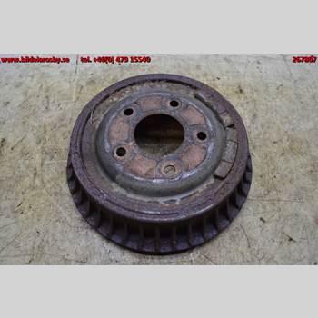 Bromstrumma Bak CHEVROLET BLAZER/S10 P-U CHEVROLET S10 BLAZER CT1 1992