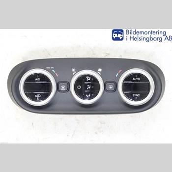 AC Styrenhet AC Manöverenhet FIAT 500X FIAT           334 2015 735656839