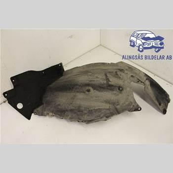 Skärm - Innerskärm BMW 5 F10/F11/F18 09-17 4DSED F10/F11 N57-D30A AUT SER 2010