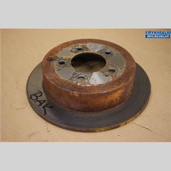 Bromsskiva Bak HYUNDAI SANTA FE  00-06 2,4 GLS G4JS 2002