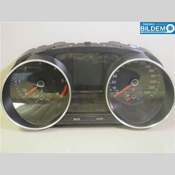 Kombi. Instrument 1,4 TDI.VW POLO 2016 6C0920741C