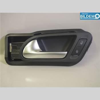 Dörrhandtag - Vänster Inre VW TIGUAN 07-16 2,0 TDI.VW TIGUAN 4MOTION 2015 5N1837113F