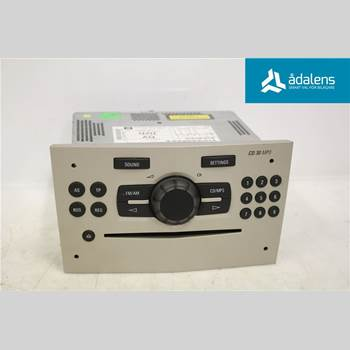 RADIO CD/MULTIMEDIAPANEL OPEL CORSA D 07-14  2008 P6780579