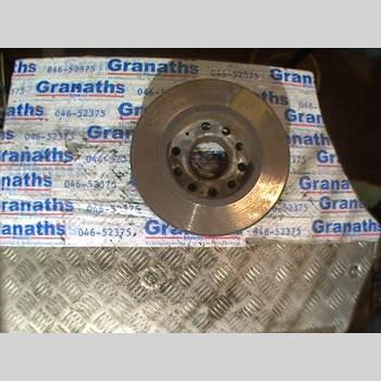 BROMSSKIVA FRAM VW TOURAN 03-10 VW TOURAN TDI 170 2008