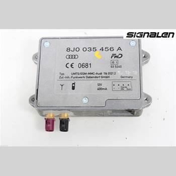 Antennförstärkare AUDI A7/S7 4G 11-17 AUDI A7 (4G) Quattro 2011 8J0035456A