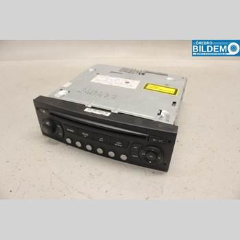 RADIO CD/MULTIMEDIAPANEL CITROEN C4 I   05-10 01 C4 2005