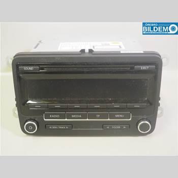RADIO / STEREO   VW POLO 10-17 1,2 TSI.VW POLO 2013 5M0057186JX