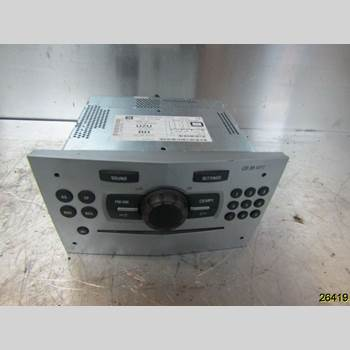RADIO CD/MULTIMEDIAPANEL OPEL CORSA D 07-14 OPEL 2011 13357127