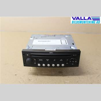 RADIO CD/MULTIMEDIAPANEL CITROEN C4 I   05-10 1,6 HDI 2007 6579PC