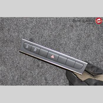 Strömställare Varningsblinkers AUDI A3/S4 05-13 A3 1,4 TFSI 2012 8P0927137