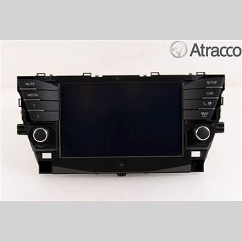 CD Radio TOYOTA AVENSIS 2016-2018 TOYOTA AVENSIS 4D 1,6D-4D COMBI 2017 8614005200