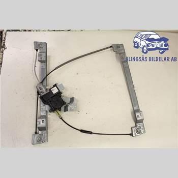 Fönsterhiss Elektrisk Komplett RENAULT KANGOO II 15- 2+1+2D 1,5DCI  5VXL SER ABS 2014
