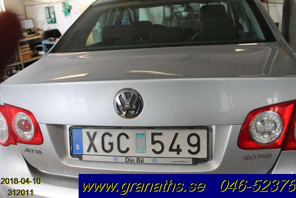 BAKLUCKA (EJ MED RUTA) till VW JETTA V 2006-2010 GF L312011 (0)