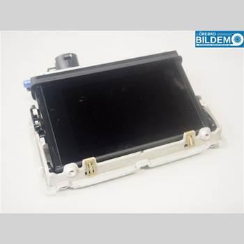 Bildskärm AUDI A3/S4 (8V) 13-20 2,0 TDI.AUDI A3 SPORTBACK 2013 8V0857273H