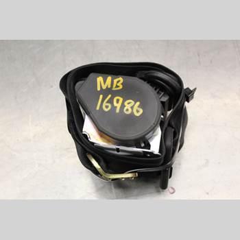 Säkerhetsbälte Mitten Bak AUDI A4/S4 05-07 3.0TDi Diesel Quattro 204HK 2005 8E5857807K