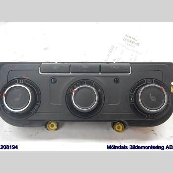 AC Styrenhet AC Manöverenhet VW TRANSP/Caravelle 16- VOLKSWAGEN, VW TRANSPORTER 2017 7E0907047AC