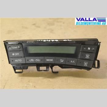 AC Styrenhet AC Manöverenhet TOYOTA PRIUS ZVW30 09- 1,8 Hybrid 2010 5590047020