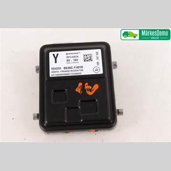 Sensor Aktivt Kollisionsskydd TOYOTA C-HR TOYOTA C-HR 5D 1,2 2017 8646CF4010