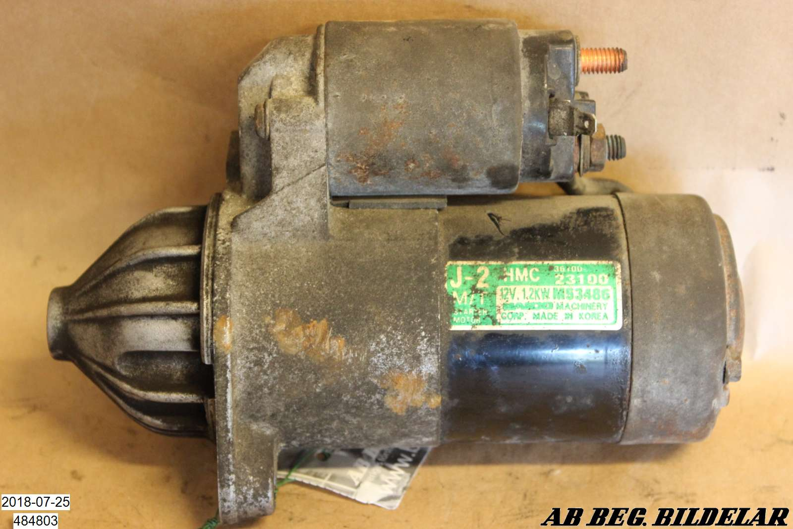 Startmotor till HYUNDAI COUPÉ LN M53486 (0)