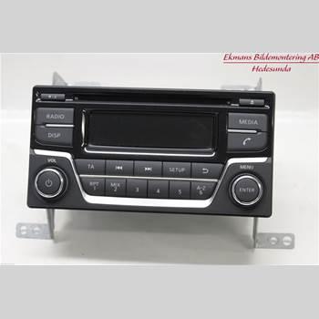 Radio CD/Multimediapanel NISSAN JUKE 14-19 01 JUKE 2015 28185BV80A