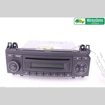 RADIO CD/MULTIMEDIAPANEL MB A-Klass (W169) 04-12 1 E 320 CDI 2008 A1698200886