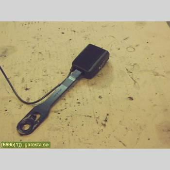 Säkerhetsbälteslås/Stopp PEUGEOT 307     05-08 5VX, 1,6HDI, 4D HGV, LGRÅ 2006