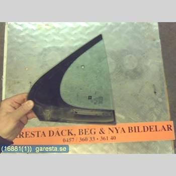 DÖRRUTA BAK LILLA HÖ SAAB 9-5 10- AUT 2,8T 4D SED 4WD GRÖN 2010