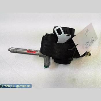 Säkerhetsbälte Vänster Bak VOLVO V50 08-12 6VX, 2,0D, HGV, LGRÅ 2008 8639551