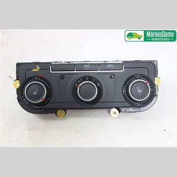 AC Styrenhet AC Manöverenhet VW TRANSP/Caravelle 16- Vw Transp-caravelle 16- 2016 7E0907047MZJU