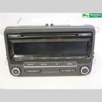 RADIO / STEREO   VW POLO 10-17 1,2 TSI.VW POLO  2012 5M0057186JX