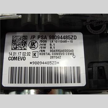 Spakcentral PEUGEOT 3008 17->> 1,6 HDI 2017 98262579ZD