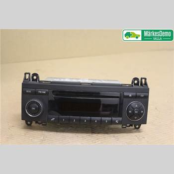 RADIO CD/MULTIMEDIAPANEL MB A-Klass (W169) 04-12 160 CDI 2006 A1698200486