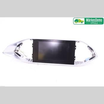 Bildskärm PEUGEOT 308 14- Peugeot 308 1,6 HDI GLAS TAK 2014 9811486280