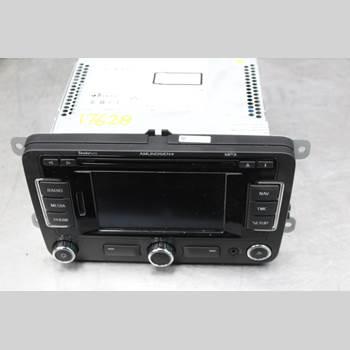 RADIO CD/MULTIMEDIAPANEL SKODA SUPERB 09-15 2.0TDi Diesel Kombi 140HK 2012 3T0035192F