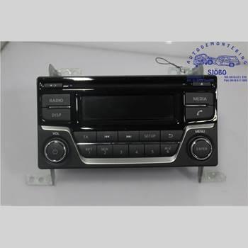 Radio CD/Multimediapanel NISSAN JUKE 14-19 1.2 DIG-T 2015 28185BV80A