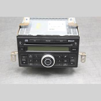 CD Radio NISSAN NOTE E11 06-14 1,4i 88hk 2009
