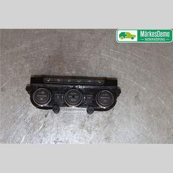 Värmereglage VW PASSAT 15-19 1 C 200 2018 5G0907044ECWZU