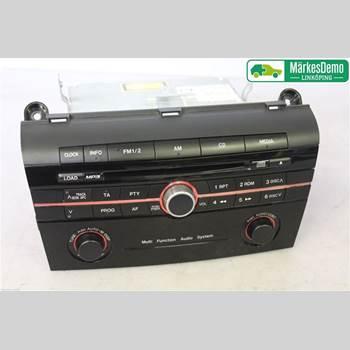 CD Radio MAZDA 3 I 07-08 MAZDA 3 (I) 2009 BR5K-66-AR0
