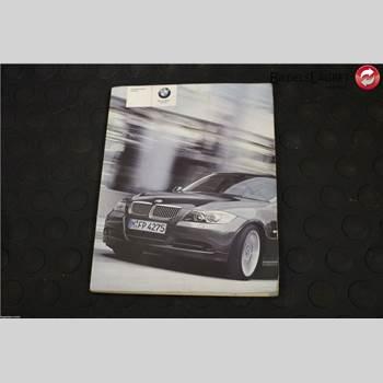 BMW 3 E90/91 SED/TOU 05-12 Bmw 3 E90-91 Sed-tou 05-12 2006 BIL