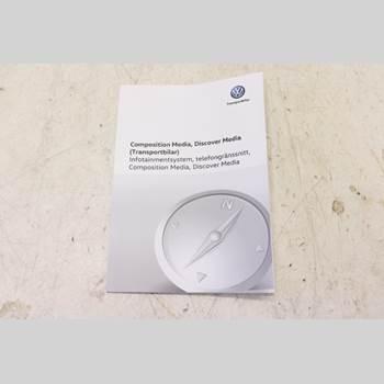 Instruktionsbok VW CRAFTER II / E-CRAFTER 17- 2,0 TDI  35 2018 7C0012737DC