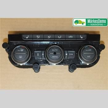 Värmereglage VW PASSAT 15-19 Vw Passat  15- 2017 5G0907044ECWZU