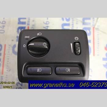 STRÖMSTÄLLARE LJUS VOLVO S60      05-10 VOLVO R + S60 2005
