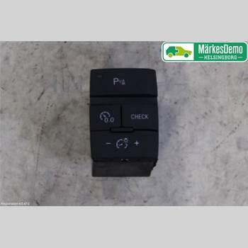 STRÖMSTÄLLARE MULITIFUNKTION AUDI Q7/SQ7 AUDI Q7 V6 TDI KOMBI 5D 2014 4L1927123A
