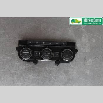 Värmereglage VW PASSAT 15-19 Vw Passat  15- 2018 5G0907044ECWZU