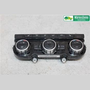 AC Styrenhet AC Manöverenhet VW BEETLE 12- VW BEETLE 2013 5C0907044Q
